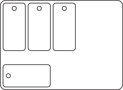 PCP-31 - 4 Key Tags