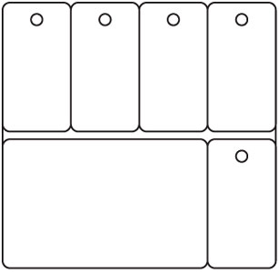 PC48 - Card-5 Key Tags