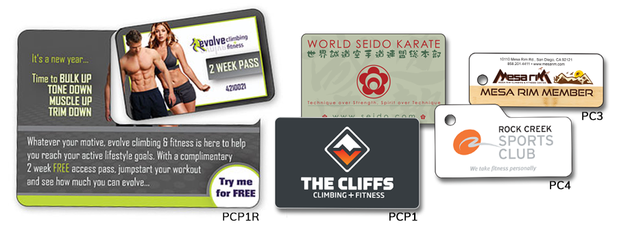PermaCard Fitness Membership Cards